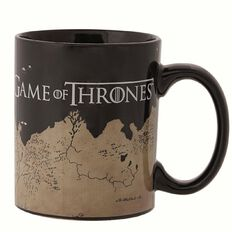 Game of Thrones Map Coffee Mug