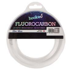 Hooked Flurocarbon Line 60lb 25m