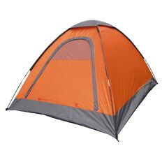 Necessities Brand Sleepout Tent Orange 2 Person