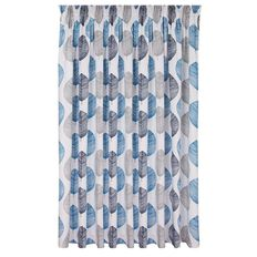 Living & Co Limited Edition Curtains Bali Teal Large
