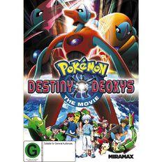 Pokemon The Movie 7 Destiny Deoxys DVD 1Disc