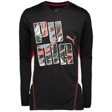 Puma Boys' Long Sleeve Tee
