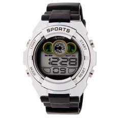 Active Intent Watch Men's Digital Black