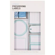 Living & Co Homemade Preserving Label Pack