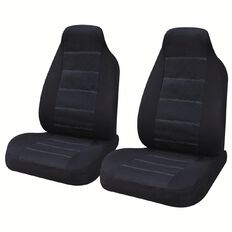Auto FX Car Seat Cover Polyester Front Pair High Back