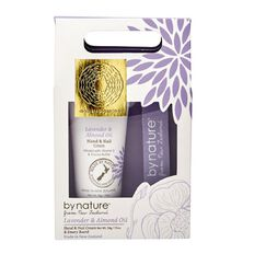 By Nature Lavender & Almond Oil Hand & Nail Set 2 Piece