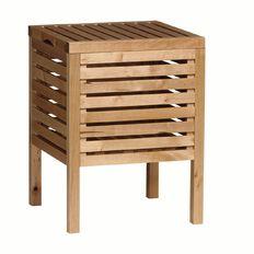 Ikea Molger Storage Stool Birch