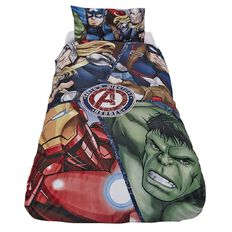 Avengers Duvet Cover Set Earth