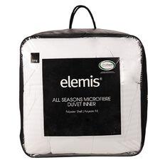 Elemis Duvet Inner All Seasons Microfibre 140cm x 210cm 255g Single